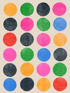 Colorplay_3 - Art Print by Garima Dhawan/Society6