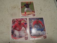 Sean Burnett Danny Espinosa Eury Perez RC 2013 Topps Series 1 Nationals Card Lot | eBay