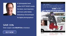 The Adobe Photoshop CS6 Book for Digital Photographers by Scott Kelby - SAVE 35% with coupon code KELBYCS6 at checkout!