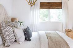 Linen in the Bedroom for Summer