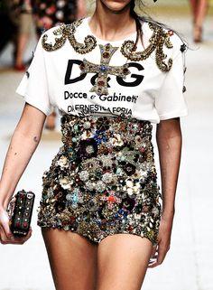 Dolce & Gabbana SS17 Details