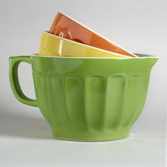 3-Piece Melamine Mixing Bowl Set