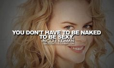 """That is ironic coming from Nicole Kidman considering a little number with TC called """"Eyes Wide Shut"""" . Umm ya…"""