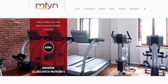 Our website for Fitness Młyn.    www.fitnessmlyn.pl