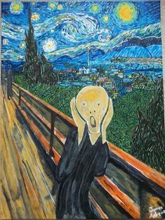 Vincent Van Gogh - The Scream