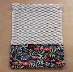 Tuto zéro déchet : le sac à vrac gehäkelte Tragetaschen Tuto zéro … – Mrs. Elsbeth Und Ich, Sewing Hacks, Sewing Projects, Crochet Supplies, Basic Crochet Stitches, Knitted Bags, Zero Waste, Needlework, Sewing Patterns