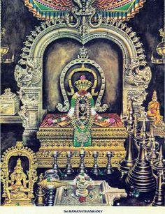 Depiction ofLord Shiva in Rameswaram - Ghumakkar - Inspiring travel experiences.