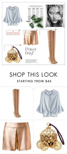 """""""Mini Bag Power ACTIVATE!"""" by starspy ❤ liked on Polyvore featuring Balmain and Chicwish"""