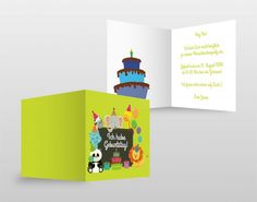 #Geburtstag #Birthday #Girl #Boy #green #tiere #Kinder