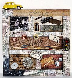 Image detail for -Altered art - L'atelier 74
