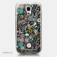 CASEiLIKE Samsung Galaxy S4 mini back cover Spring Forest Black 2244