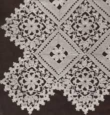 crochet tabel cloth and patterns - Google Search