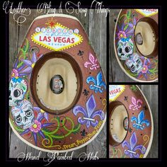 Find me on Fb for more painted cowboy hat ideas.. Cowgirl Hats 2b6d132bc9f