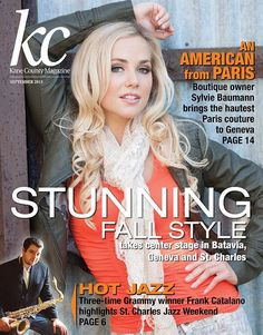 Sylvie was featured in the Kane County Magazine in the article An American From Paris! Did you see it?