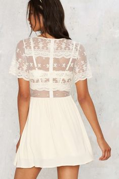 All or Next to Nothing Lace Dress | Shop Clothes at Nasty Gal!