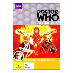 Doctor Who: The Daemons DVD 2 Disc Set Brand New Region 4 Aust. Jon Pertwee