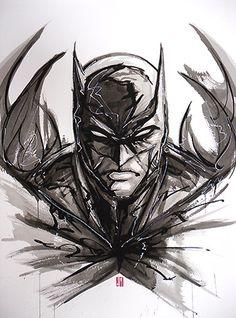 Batman Ink by *artofJEPROX on deviantART
