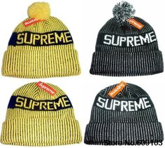 0d1c947c579 SUPREME Beanies Hats Vertical stripes Hip-Hop wool winter Cotton knitted  warm caps Snapback hat for man and women 1pcs  9.99