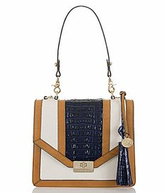 Brahmin Lady Vineyard Collection Ohpelia Shoulder Bag Dillards Exclusive #Dillards