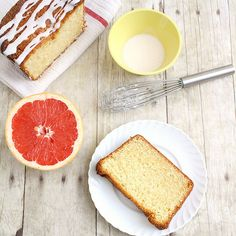 Glazed Grapefruit Cake | Tracey's Culinary Adventures  I'm thinking one or the other - probably not both.  ;)