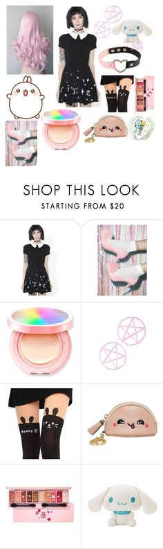 """""""Kawaii pastel"""" by philomena-umbra ❤ liked on Polyvore featuring Etude House and Anya Hindmarch"""