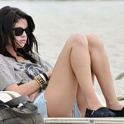 Selena Gomez in the beach #selena #gomez #celebrity #upskirt