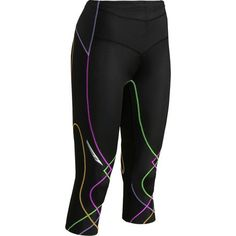 CWX designed the Women's ¾ Length Stabilyx Tight with the support commonly reserved for folks with muscle and joint injuries. Their logic is, quite sensibly, that an ounce of prevention avoids a ton of physical therapy. (And really, who enjoys those appointments?) CW-X's patented Conditioning Web supports each muscle group in your leg and holds your knee steadily in place. Extra support at the waistband lends a little extra power to your lower back and core muscles.