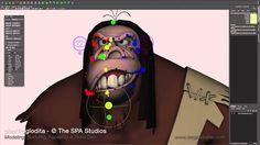 CGI Troglodita Rig Demo by Sergi Caballer