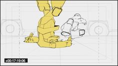 Giancarlo Volpe | steveahn: Few Storyboards panels from TMNT'The...