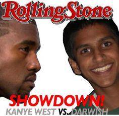 Kanye battles Aziz Ansari's cousin Darwish