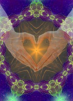 Nothing glows Brighter than the Heart Awakened to the Unseen Light of Love that lives within it❤