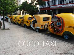 Have you experienced a Coco-taxi ride in #Cuba.