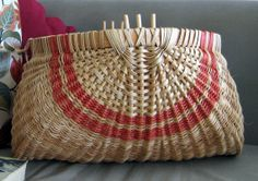 Very Large Ribbed Potato Basket by nmlbaskets on Etsy, $115.00