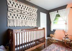 Design Trend: Macramé #nursery