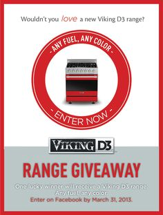 New Year, New D3! I just entered the #VikingD3 Series Range #Giveaway on Facebook! Good Luck!