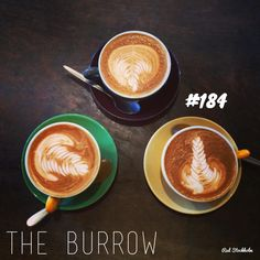 The Burrow. Brisbane. 365 coffees. 365 cafes. 365 days.