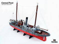 Consul Pust Steamtrawler by Konajra, via Flickr