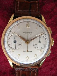 Vintage Watches For Sale, Snap Backs, Watch Sale, Omega Watch, Manual, Flat, Button, Yellow, Gold