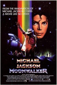 "Michael Jackson's Moonwalker (1988).  I was in love with MJ back then, this ""movie"" gave me life. ""[a traffic cop points to a ""No Moonwalking"" sign] Me and my friend, Spike, we were just... But, my friend, he was just... Spike, he was just here... (Speed Demon video)"""