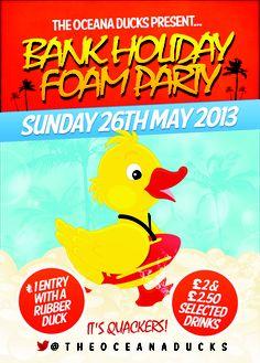 3rd Foam Party of 2013!