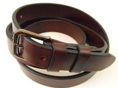 25mm Brown genuine full grain harness with by robynchristopher, $36.95