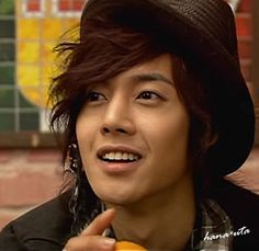 """Kim Hyun Joong 김현중 ♡ hat ♡ Kpop ♡ Kdrama ♡ he was such perfection in that mv...so funny too haha xoxo❤ """"A song calling for you"""""""