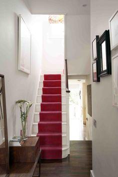 west london design.     Love the stair runner !