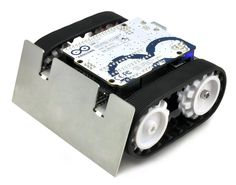 Zumo Robot for Arduino, v1.2 (Assembled with 75:1 HP Motors)