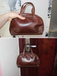 Bag Leather Top Handle Bag Womens Leather Handbag Brown Bag