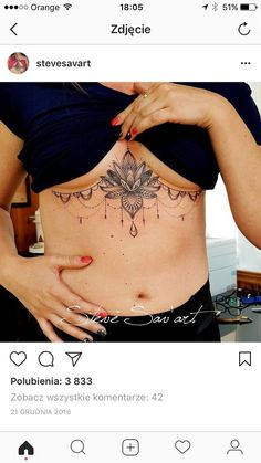 Mini Tattoos, Diskrete Tattoos, Bauch Tattoos, Cute Tattoos, Beautiful Tattoos, Body Art Tattoos, Small Tattoos, Black Girls With Tattoos, Chest Tattoos For Women