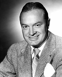 Bob Hope - May 29, 1903  – July 27, 2003 British-born American comedian and actor, raised in Cleveland, OH