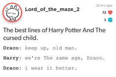 Hahaha Draco!!!! ❤️ I love this part