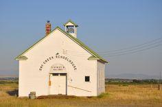 Dry Creek Schoolhouse   Manhattan, Montana   Lisa DiConti   Flickr