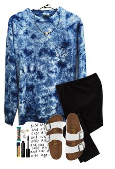 """""""~it's snowing. again.~"""" by simply-natalee ❤ liked on Polyvore featuring Old Navy, Birkenstock, Mikimoto, Burt's Bees and Bobbi Brown Cosmetics"""